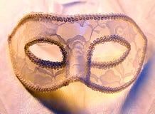 Máscara do carnaval do laço imagem de stock