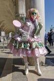 Máscara do carnaval em Veneza Imagens de Stock Royalty Free