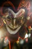 Máscara do carnaval em Veneza, Italy Foto de Stock Royalty Free