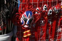 Máscara do carnaval no contador Foto de Stock