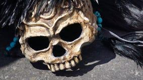 máscara do crânio fotografia de stock royalty free