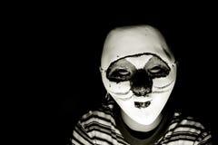 Máscara de Dia das Bruxas fotografia de stock royalty free