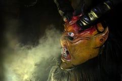 Máscara do diabo foto de stock
