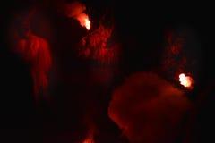 Máscara do diabo imagens de stock
