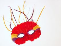 Máscara do disfarce do carnaval Foto de Stock Royalty Free