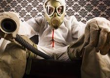 Máscara do Dr. Gore & de gás imagem de stock royalty free