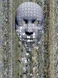 Máscara do enigma foto de stock royalty free