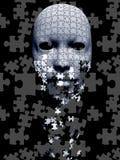 Máscara do enigma ilustração do vetor