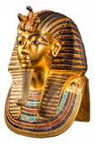 Máscara do enterro de Tutankhamun imagem de stock