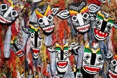 Máscara do fantasma da phi Ta Khon no festival em Tailândia fotografia de stock