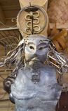 A máscara do ferro imagem de stock