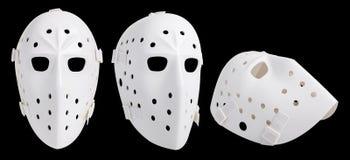 máscara do hóquei fotografia de stock