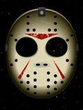 Máscara do hóquei de Halloween Imagem de Stock Royalty Free