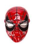 Máscara do homem-aranha Fotografia de Stock Royalty Free