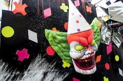 Máscara 2014 do horror do carnaval Foto de Stock Royalty Free