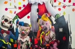 Máscara 2014 do horror do carnaval Imagens de Stock Royalty Free