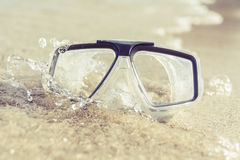 Máscara do mergulho Imagens de Stock