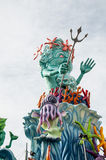 Máscara 2014 do nettuno do carnaval Imagem de Stock