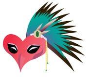 Máscara do pássaro Fotos de Stock Royalty Free