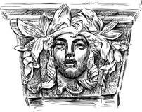 Máscara do relevo Imagem de Stock