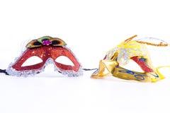 Máscara dos Foto de archivo libre de regalías