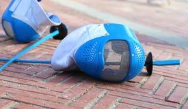 Máscara e folha de cerco do equipamento após o fósforo Imagem de Stock