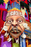 Máscara e Quilt peruanos Fotografia de Stock Royalty Free