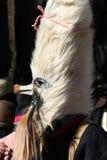 Máscara e traje do Mummer Imagens de Stock