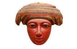 Máscara egipcia del ataúd imagen de archivo libre de regalías