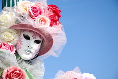 Máscara em Veneza imagem de stock