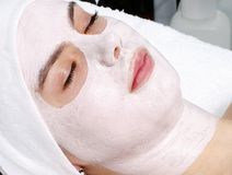 Máscara en cara foto de archivo libre de regalías