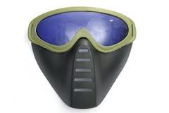 Máscara en el fondo blanco Imagen de archivo libre de regalías