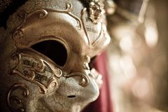 Máscara espeluznante del carnaval foto de archivo libre de regalías