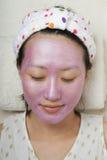 Máscara facial fotografia de stock royalty free