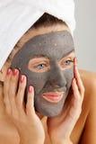 Máscara facial fotografia de stock