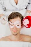 Máscara facial Fotos de archivo