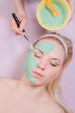 Máscara facial Foto de Stock