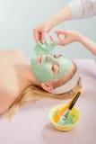 Máscara facial foto de stock royalty free