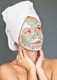Máscara facial fotos de stock royalty free