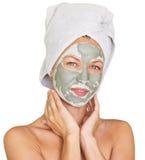 Máscara facial Imagens de Stock