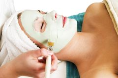 Máscara facial Fotografía de archivo libre de regalías