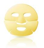 Máscara facial de la hoja Foto de archivo