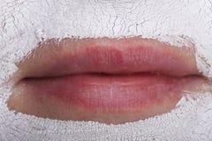 Máscara facial. Spa Foto de archivo