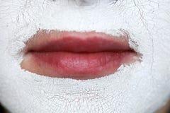Máscara facial. Spa Imagenes de archivo
