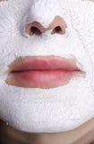 Máscara facial. Spa Foto de archivo libre de regalías