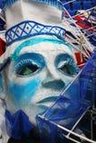 A máscara falsificada grande para mostrar a massa aberta ostenta o festival Imagens de Stock