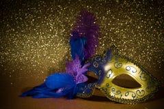 Máscara femenina del carnaval Imágenes de archivo libres de regalías