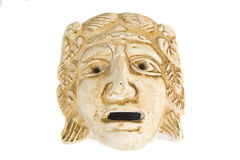 Máscara griega antigua Fotos de archivo libres de regalías