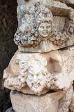 Máscara griega del teatro Imágenes de archivo libres de regalías