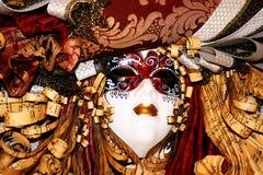 Máscara hermosa del carnaval imagen de archivo